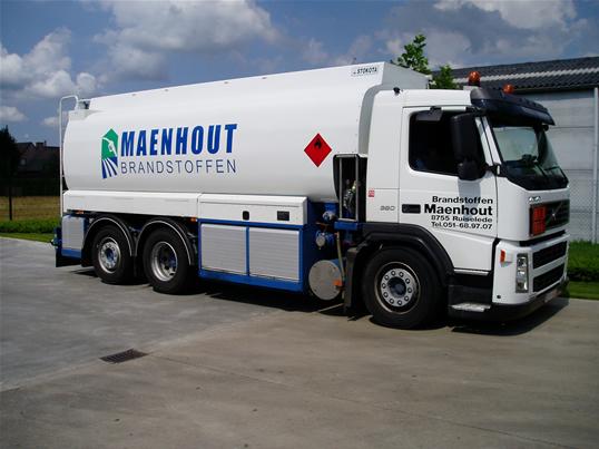 Tankwagen Brandstoffen Maenhout